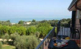 Panorama residence Cappella del Convento a Rodi Garganico sul Gargano in Puglia
