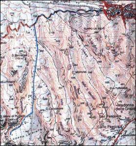 20.Monte S.Angelo Valle Campanile (S.Barnabea) Coppa la Pinta (Vallone Pulsano)