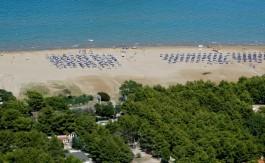 La spiaggia di Porto Nuovo