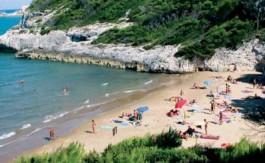 La spiaggia di Cala del Turco