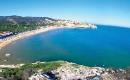 La spiaggia di Manaccore