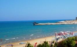 La spiaggia di Scialmarino