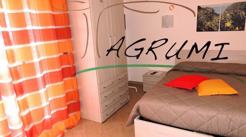 La camera Agrumi che nei colori ricorda gli agrumi del Gargano
