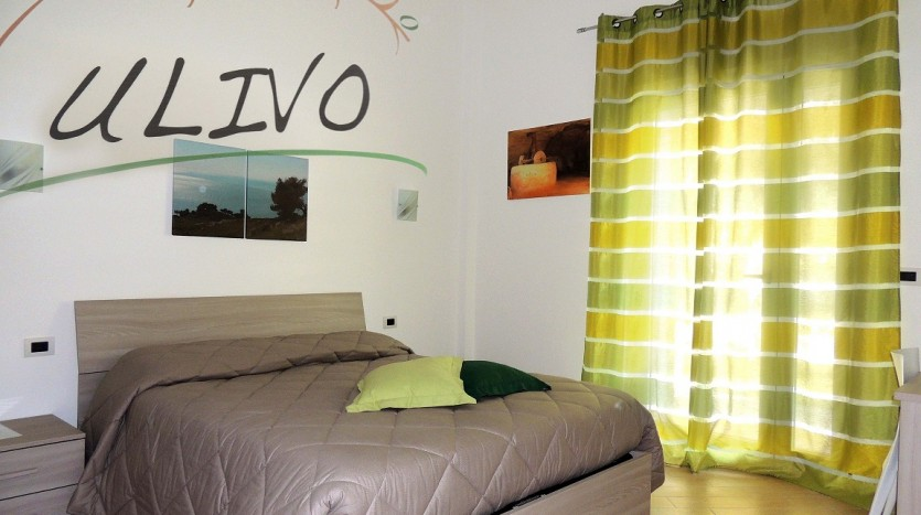 La camera Ulivo a Villa Simone