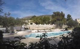 Angolo piscina di Villa Simone