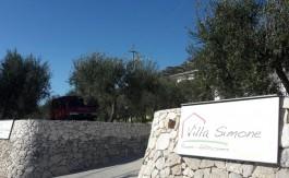 Ingresso di Villa Simone