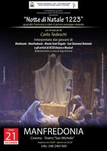 Notte di Natale 1223 @ Cine Teatro San Michele | Manfredonia | Puglia | Italia