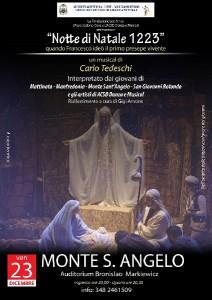 Notte di Natale 1223 @ Auditorium Beato Bronislao Markiewicz | Monte Sant'Angelo | Puglia | Italia